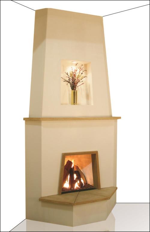 Adobelite Kiva Fireplace Gallery