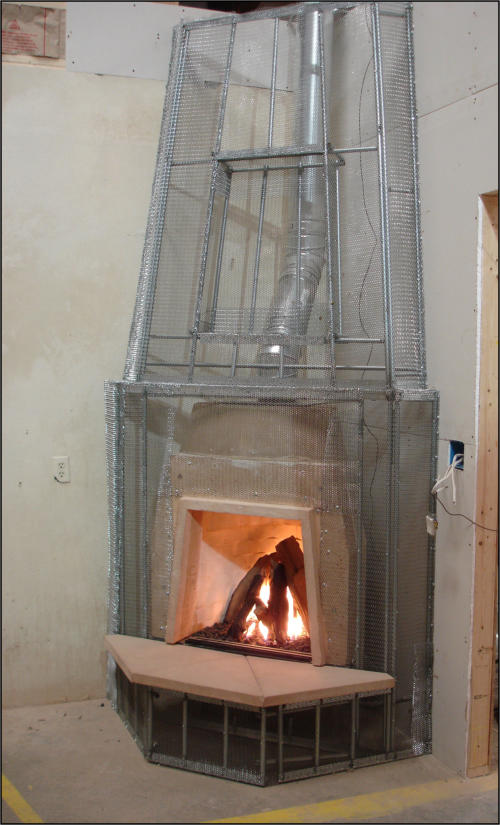 Adobelite kiva fireplace gallery for Kiva fireplaces
